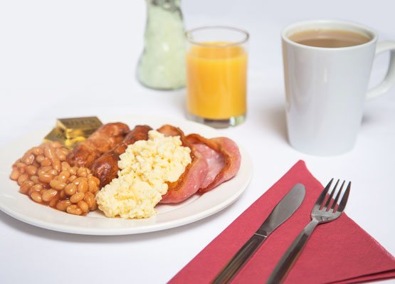 Express breakfast included with every stay
